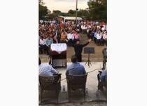 intrunire religioasa cu peste 200 de oameni