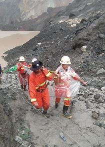 Myanmar - prabusirea minei de jad