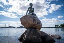 Statuie mica sirena, Copenhaga