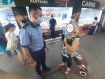 Politia, in control la piete