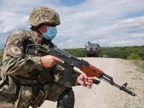 Militar român în timpul pandemiei de coronavirus