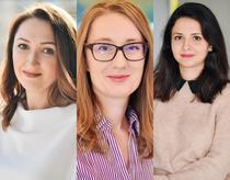 Florentina Munteanu, Andrea Grigoraș, Miruna Stanciu