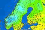 Temperaturi mici in sudul si centrul Scandinaviei pe 4 iulie