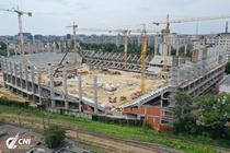 Stadionul Rapid, in constructie (3)