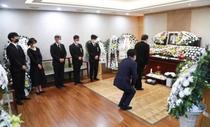 Funeralii, Coreea de Sud (sursa foto-twitter)