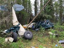 Accident aviatic in Alaska (sursa: twitter)
