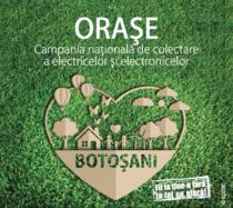 """""""Orașe Curate"""" în Botoșani"""