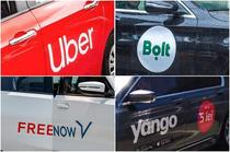 Uber Bolt Yango Free Now in Romania