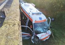 Accident de ambulanta in Gorj