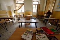 Clasa cu distantare intre elevi