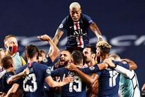 Bucuria jucatorilor de la PSG