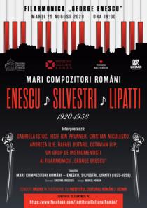Mari compozitori români - Enescu, Silvestri, Lipatti