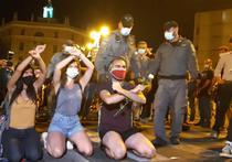 Proteste in Israel (sursa foto-twitter)