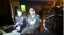 Politisti din Peru, incercand sa justifice interventia