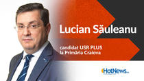 Lucian Sauleanu, candidat USR PLUS Craiova