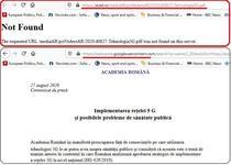 Error_404 la Academia Romana