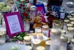 Memorial pentru fata ucisa in Stockholm