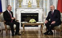 Putin si Lukasenko
