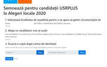 Semnatura online pentru candidatii la locale