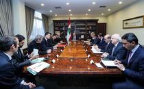 Presedintele libanez Michel Aoun la o intalnire