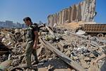 Beirut dupa explozie