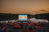 Astra Film Festival, Scena Lac (Foto Rares Helici)