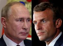 Vladimir Putin, Emmanuel Macron
