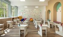 Sala de clasă renovată de P&G