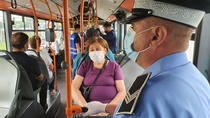 Coronavirus autobuz