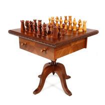 Masa de șah din fosta colecție Nicolae Ceaușescu