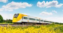Trenul Arlanda Express de la Stockholm