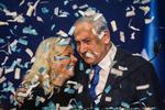 Benjamin Netanyahu si sotia acestuia