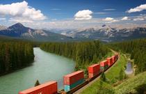 Tren de marfa in Canada