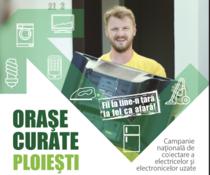 """""""Orașe Curate"""" revine în Ploiești"""