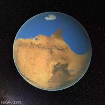 Cum ar fi putut arată Marte acum miliarde de ani