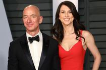 Mackenzie Scott si Jeff Bezos