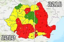 Alegeri locale 2020 vs 2016