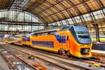 Tren la Amsterdam