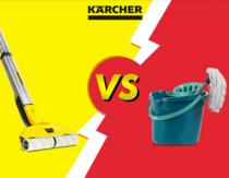 Mopul electric de la Karcher