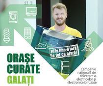 Campanie de colectare deșeuri electrice în Galați