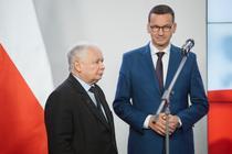 Jaroslaw Kaczynski si Mateusz Morawiecki