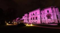 Palatul Cotroceni ilumina