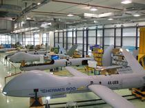Linia de asamblare a dronelor Elbit în Israel