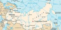 Fenomenul Tunguska pe hartă