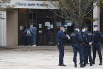 Liceul unde preda profesorul decapitat in Paris