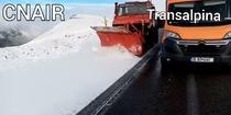 ninsoare pe Transalpina