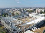 Stadionul Rapid, in constructie
