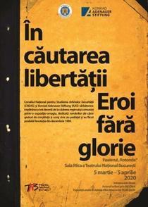 """NAG: Expozitia """"În căutarea libertății - Eroi fără glorie"""""""