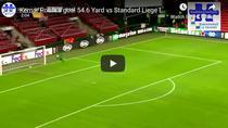 Kemar Roofe si golul incredibil marcat contra lui Standard Liege