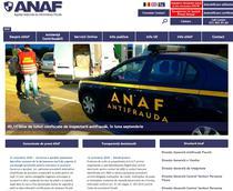 Noul site ANAF